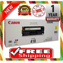 NEW CANON 418 YELLOW Toner MF8350Cdn MF8580Cdw (FREE SHIPPING)