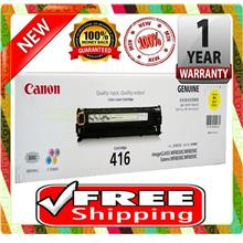 NEW CANON 416 YELLOW Toner MF8080CW MF8030CN FREE SHIPPING