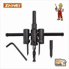 Adjustable Metal Wood Circle Hole Saw Drill Bit Cutter Tool ZHWEI 30mm