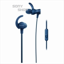 SONY MDR-XB510AS (BLUE) SPORTS EXTRA BASS SPLASH-PROOF SPORTS IN-EAR HEADPHONE)