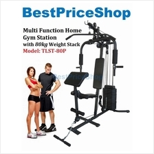 Europe Grade Multi Function Home Gym Station Fitness Press Machine 80P