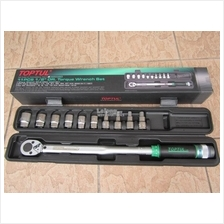 Toptul 11pcs 1/2'Dr. 40-210Nm Torque Wrench Set