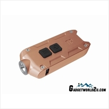 Nitecore TIP CU Copper CREE XP-G2 LED Keychain Rechargeable Flashlight