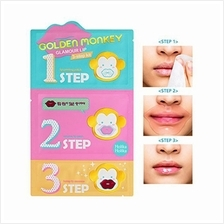 Holika Holika Golden Monkey Glamour Lip 3-Step Kit 13g