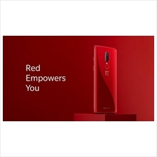 ONEPLUS 6 - AMBER RED - 8GB RAM | 128GB ROM (A6000/A6003)
