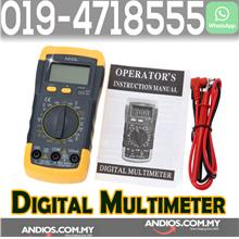 Auto Ranging DC AC Voltmeter Thermometer Ammeter Ohmmeter Tester