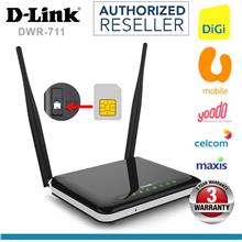 D-Link DWR 711 3G Direct SIM Wireless N300 Modem WiFi Router DiGi