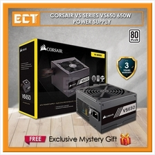 Corsair VS Series VS650 650W UK Version PSU - 80 PLUS EU
