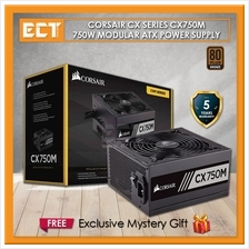 Corsair CX Series CX750M 750W 80 PLUS Bronze Certified Modular ATX PSU