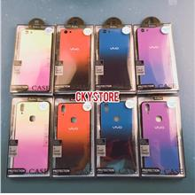 VIVO Y85 V9 / Y53 Y71 Glass Gradient Rainbow Case