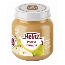 Heinz: Fruity Pear  & Banana 110g (From 6+ Months))