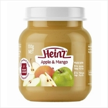 Heinz: Fruit Apple  & Mango 110g (From 6+ Months))