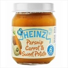 Heinz: Parsnip Carrot  & Sweet Potato 110g (From 6+ Months))