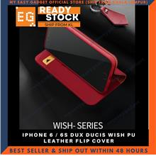 DUX DUCIS WISH PU LEATHER FLIP COVER FOR APPLE IPHONE 6 / 6S