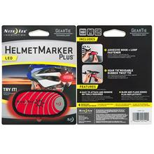 Nite Ize Helmet Marker Plus Red - Safety Night Marker Light