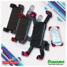 Motorbike Phone Holder Adjustable 360 Degree Rotate Mobile 4 to 6.5