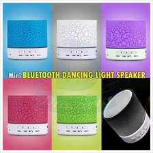 A9 Mini Bluetooth Speaker LED Portable Wireless TF USB FM Mic Music