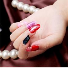 Fashion Waterproof Lace Nail Patch Sticker
