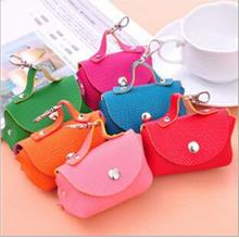 Korean Creative Candy Color Leather Mini Pouch