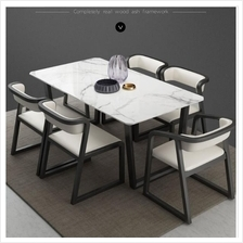 568790318805 you customize colours solid wood marble tables & chairs
