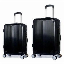 SKY TRAVELLER SKY280 2-in-1 Premium Ultralight Luggage Set (22+26 Inch))