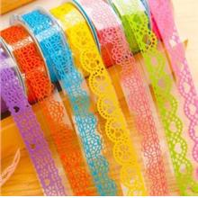 Multi-function Sweet DIY Lace Stationery Stickers
