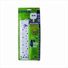 CENTO EXTENSION SOCKET 4-PLUGS + SURGE PROTECTOR 2Meter (CT-534N)