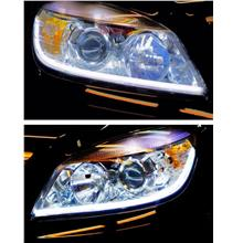 Mercedes Benz W204 Projector Head Lamp + 2-Function DRL