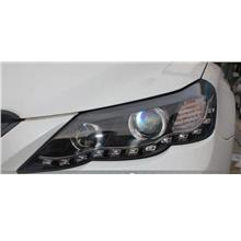 TOYOTA MARK X Dual PROJECTOR LED Ring HEAD LAMP DRL R8