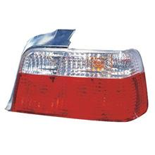 DEPO BMW E36 '91-97 4D Tail Lamp Crystal Clear/Red (BM01-RL03-U)