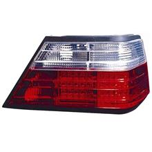 DEPO Mercedes BENZ W124 86-95 LED Tail Lamp Crystal [Clear/Red] 1-pair