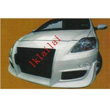 toyota vios C-One style front bumper Material: Fiber