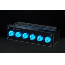 # SUNBEAM Rheobus-Extreme BLACK BLUE LED # 6 Fans Controller!