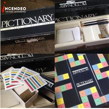 **incendeo** - PICTIONARY First Edition Board Game