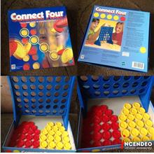 **incendeo** - HASBRO MB Connect Four Classic Game