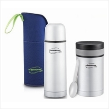27% OFF!! Thermos COMBO: Thermocafe 500ml Basic Living Flask With + -)