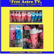 Travelling Drinking Bottle Water bekas minuman botol air kid adult se