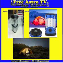 12 LED Camping Hiking Fishing Tent Lantern Light Lamp camp Lampu Kem s