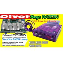 Pivot Mega Raizin 3 Grounding Power Booster Fuel Saver Jimat Minyak Petrol $