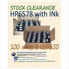 HP6578 WITH INK stock clearance