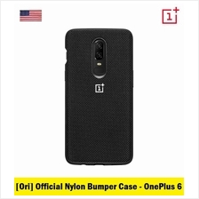 Official OnePlus Product Nylon Bumper Series for OnePlus 6 (Black)
