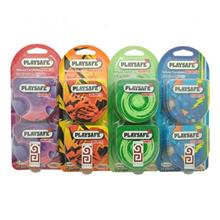 PLAYSAFE QUICK & EASY 4 in 1 CONDOM (Kondom) COMBO - 40's