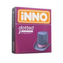iNNO Dotted Condoms Kondom (For Unique Sensation) 3's