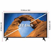 LG TV 32-Inch Full HD TV (2018 Model - 32LK500BPTA) 2 x HDMI