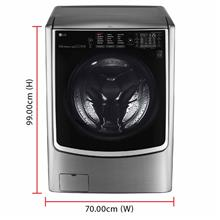 LG Inverter Direct Drive Washer Dryer F2721HTWV (21.0 / 12.0kg) LG Washer and