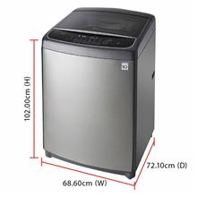 LG Inverter Direct Drive Washing Machine T2721SSAV (21.0kg) Smart ThinQ
