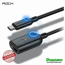Rock USB Type C to USB 3.0 OTG Cable Adapter 5V Gaming Hardisk Thumbdr