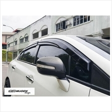 Honda Civic FB 2012-2016 Mugen Acrylic Door Visor (Malaysia Made)