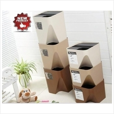 Hot Japanese Style Stackable Space Saving Sorting Garbage Trash Bin