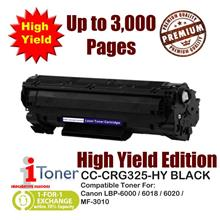 Canon 325 CRG325 Grade-A Compatible Toner 1,600+1,400 Pages High Yield